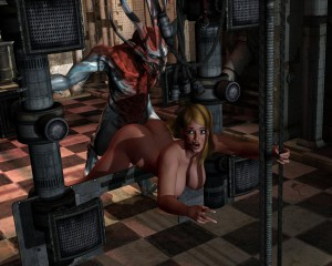 shocked 3d girl fucked by a demon